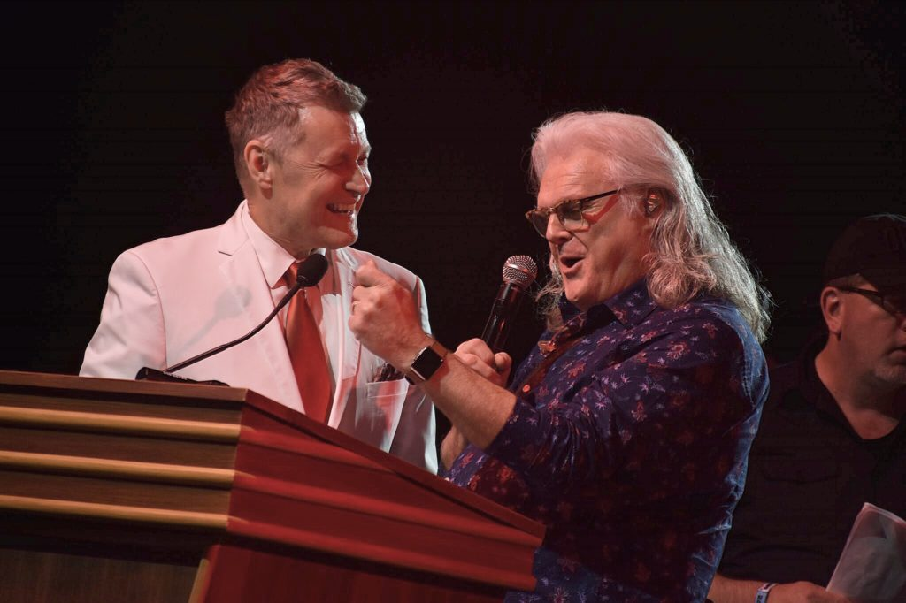 Bill Cody Of Grand Ole Opry With Ricky Skaggs