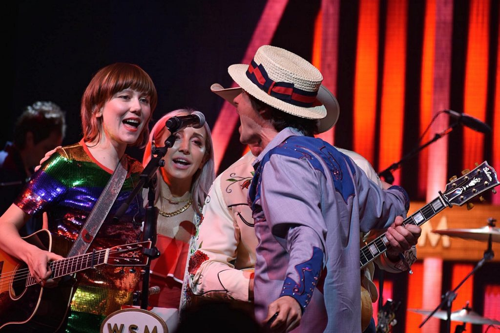 Molly Tuttle and Ketch Secor at Bonnaroo