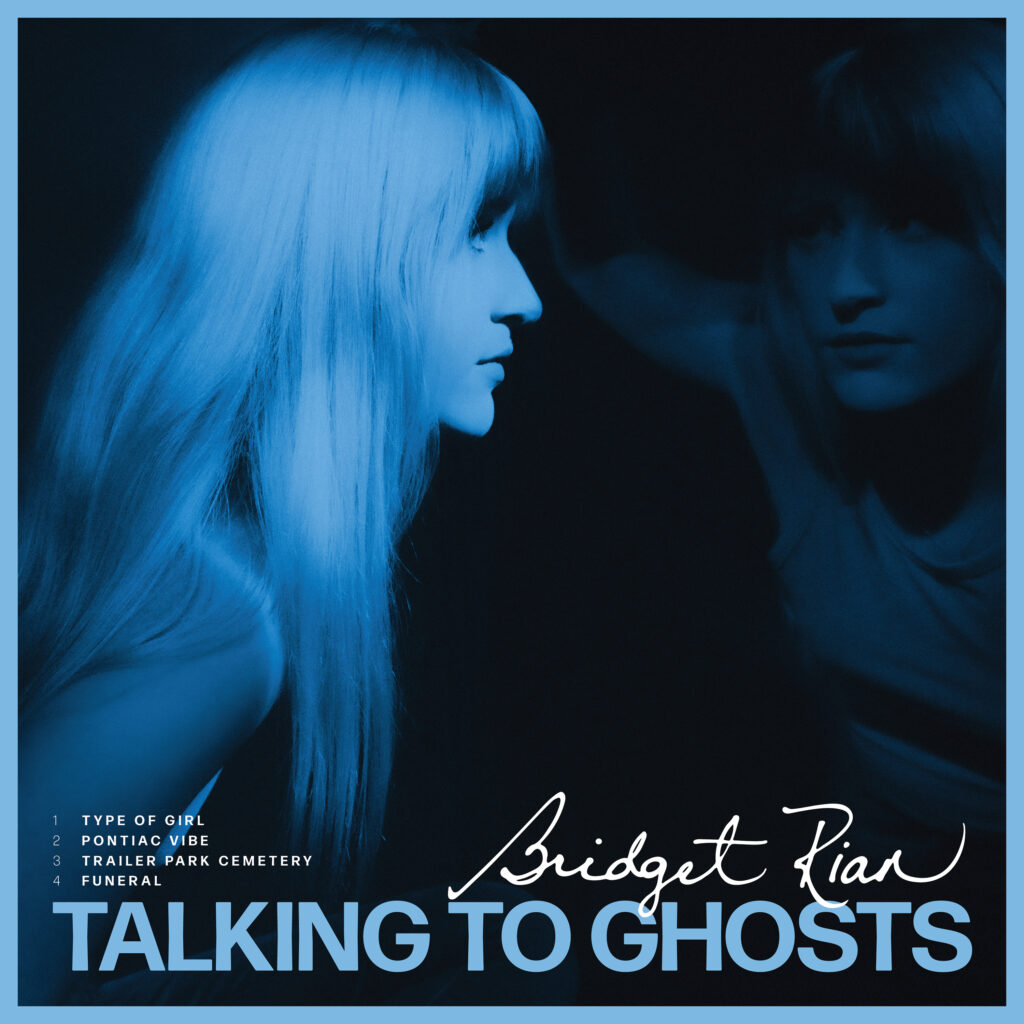 Bridget Rian Talking to Ghosts EP Cover Art