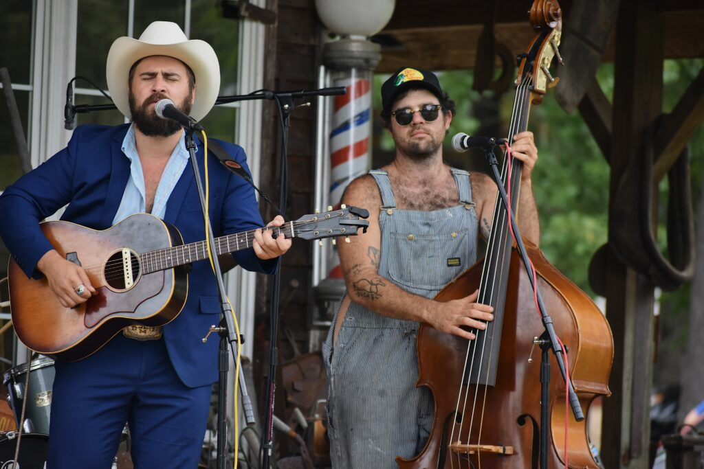 Mose Wilson and Friends at Byrd's Creek Music Festival