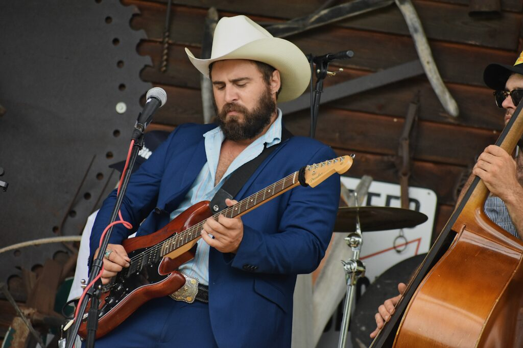 Mose Wilson and Friends at Byrd's Creek Music Festival (2)