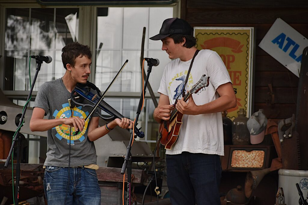 Mose Wilson and Friends at Byrd's Creek Music Festival (5)